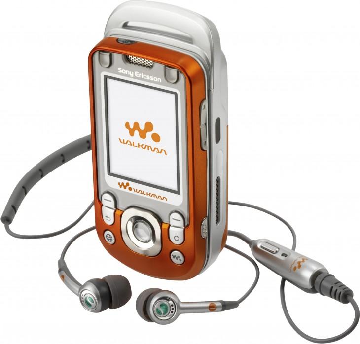 SONY WALKMAN muy popular en el principio de los 2004