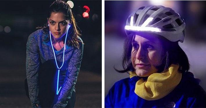 aparatos de iluminación para el corredor y ciclista del 2015