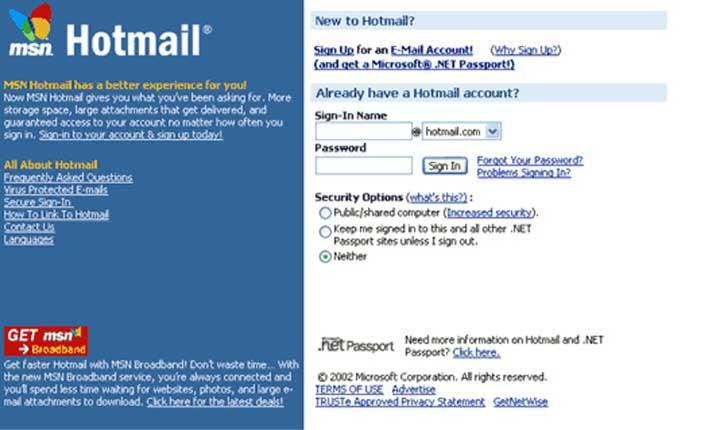 Así se veían las páginas web más populares hace un par de años ¡Te sorprenderás!