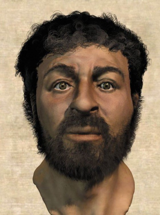 La verdadera cara de jesucristo según Richard Neave