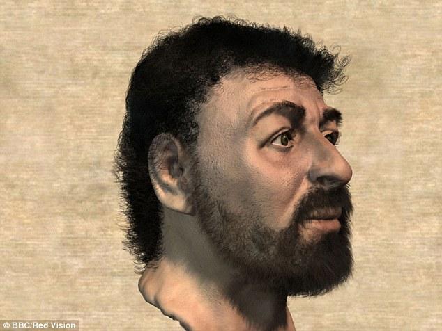 el verdadero perfil de jesucristo según richard neave