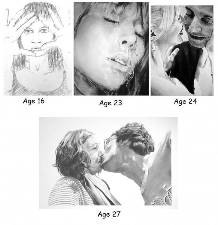 marie jeanes y su progreso a lo largo de la adolescencia