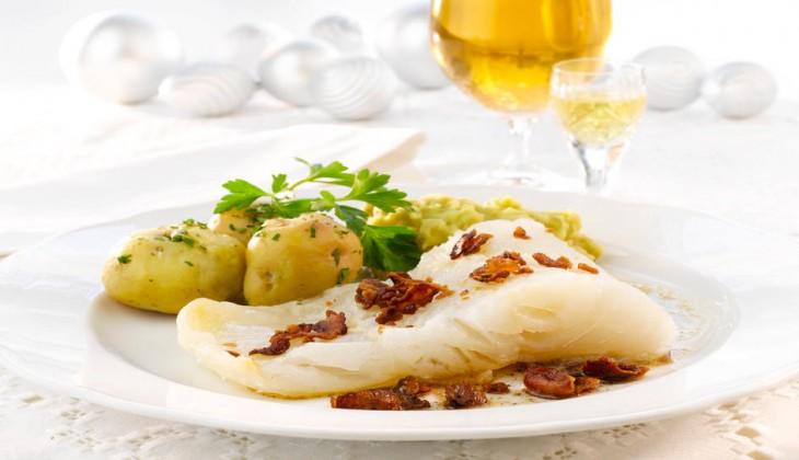 pescado cocido en cloro