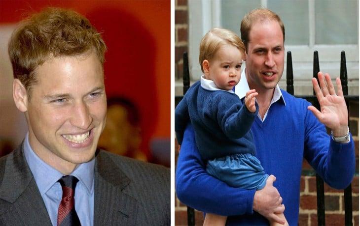 Principe William y sus cambios en los últimos 10 años han sido bastante abrumadores. Ninguno le ha sentado del todo bien. Se está quedando calvo y cada día se parece más al papá.