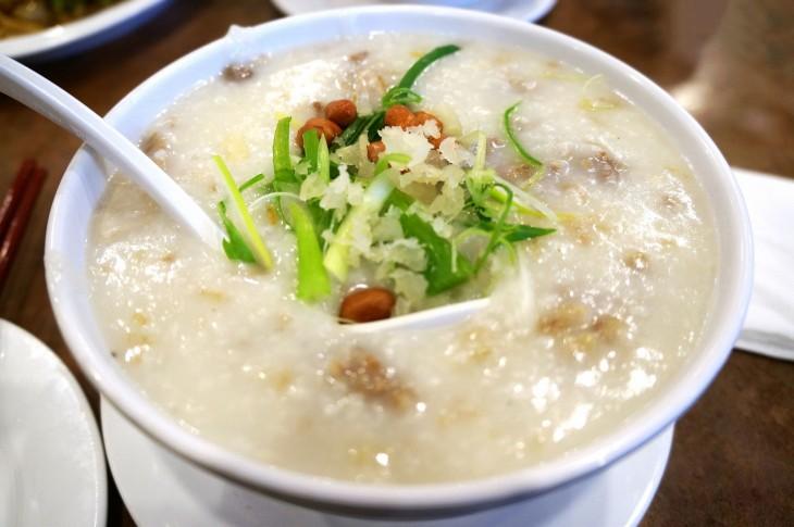 congee arroz con leche