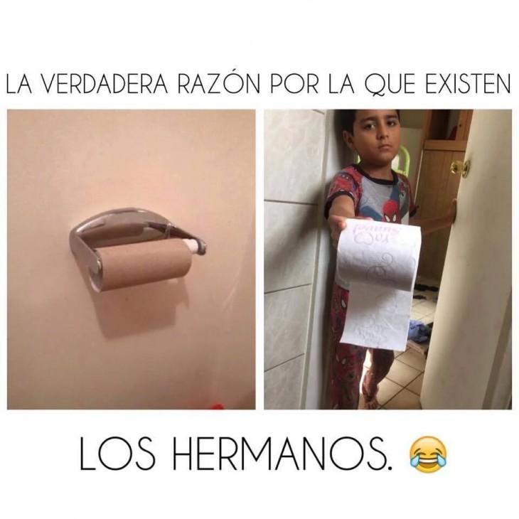 LA VERDADERA RAZON DE LOS HERMANOS
