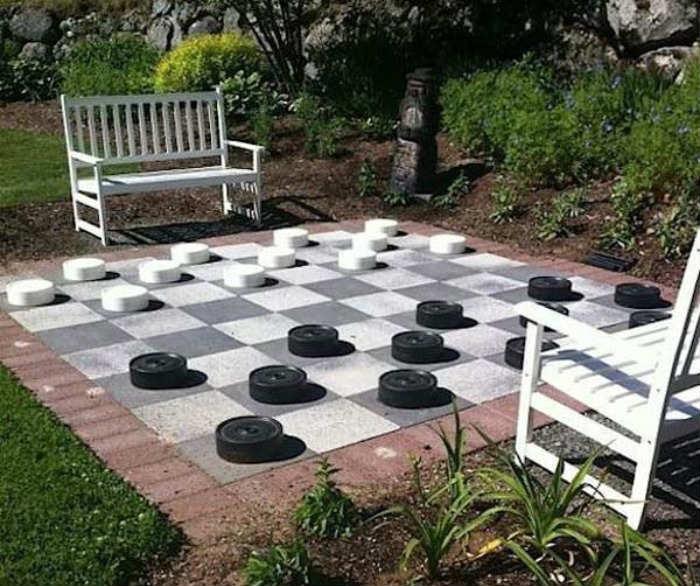 Ajedrez para un gran jardín