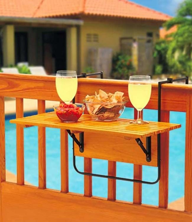 mesa portable para la orilla de una alberca