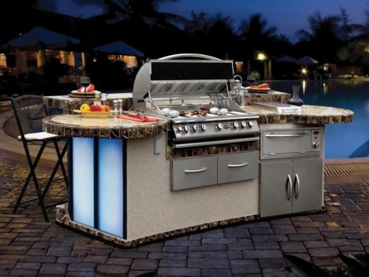 cocina de exteriores