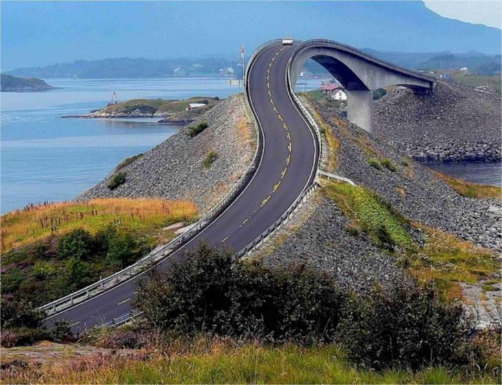 puente contra el vertigo en noruega