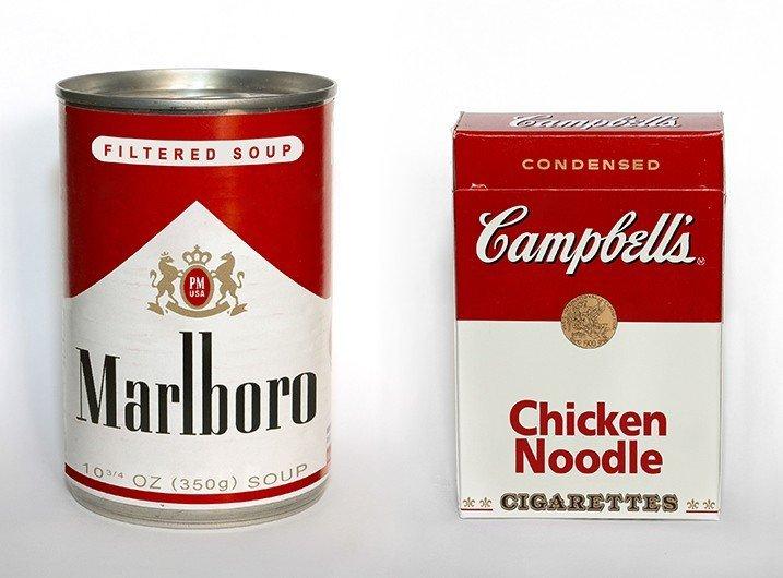 marlboro en lata g sopa de pollo en cigarros