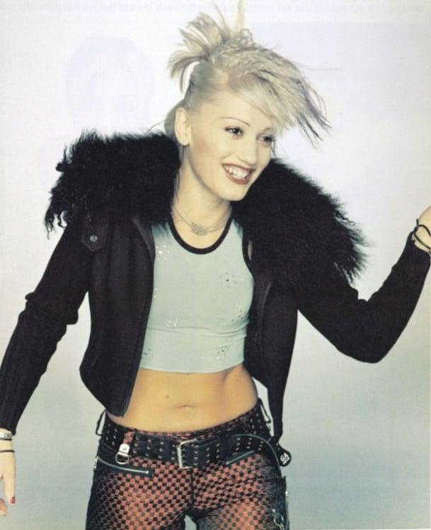 Los croptops de los noventa los puso Gwen Stephani