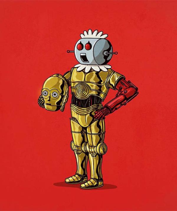 robotina/ star wars