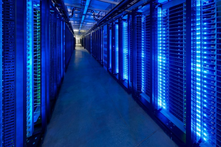así se ven los servidores de facebook