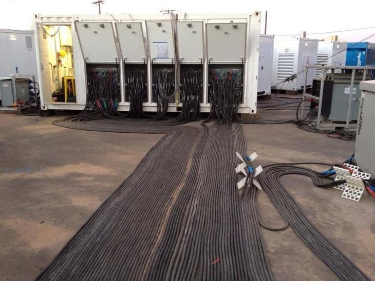 cables de energía electrica