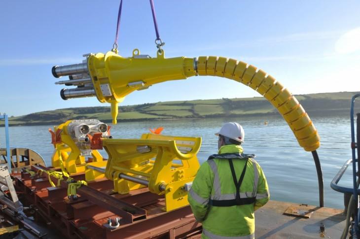 cable amarillo plug marino