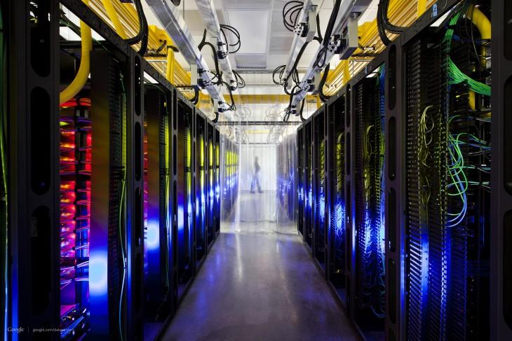 así se ven los servidores de Google por dentro