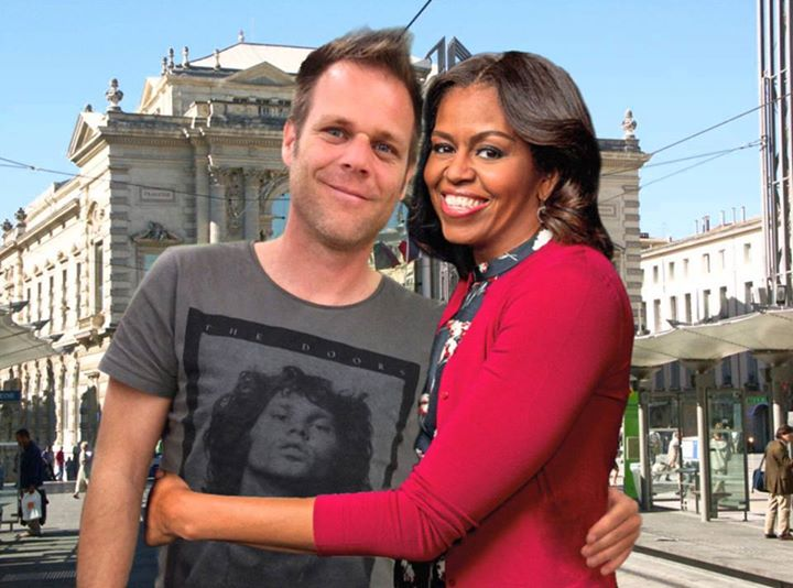 pshotoshop con michelle obama