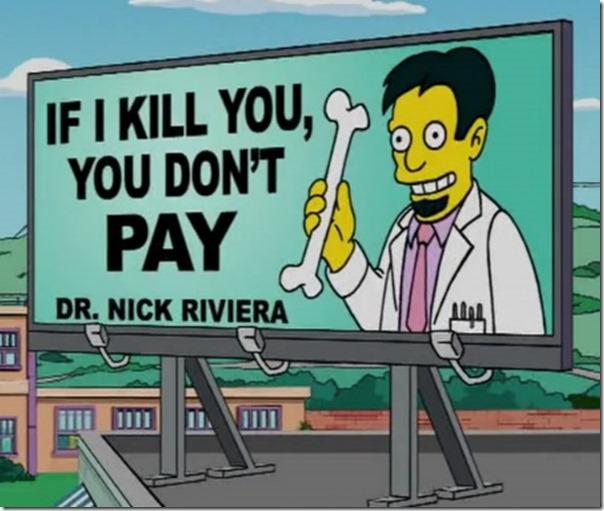doctor anuncios sátiricos