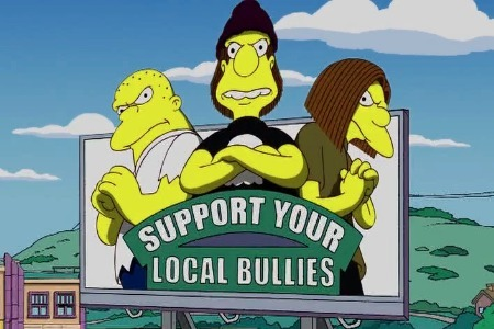 anuncios para apoyar a los bulñlies