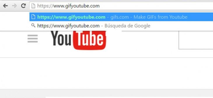 Cpomo hacer un gif en youtube
