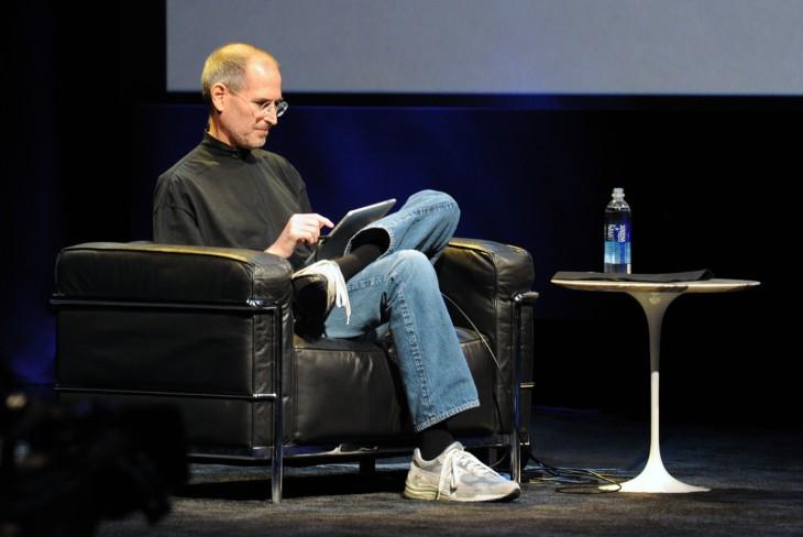 Steve Jobs en una conferencia