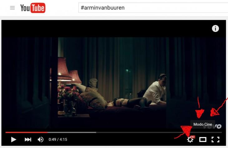 utiliza el modo cine en youtube para mejorar tu experiencia de video