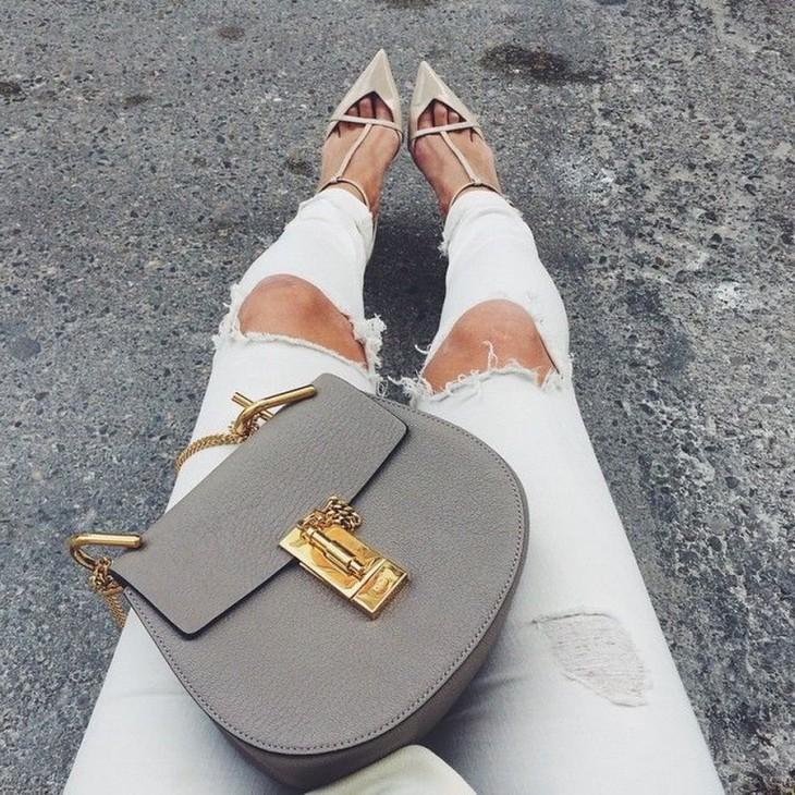Zapatillas y bolsas chloe