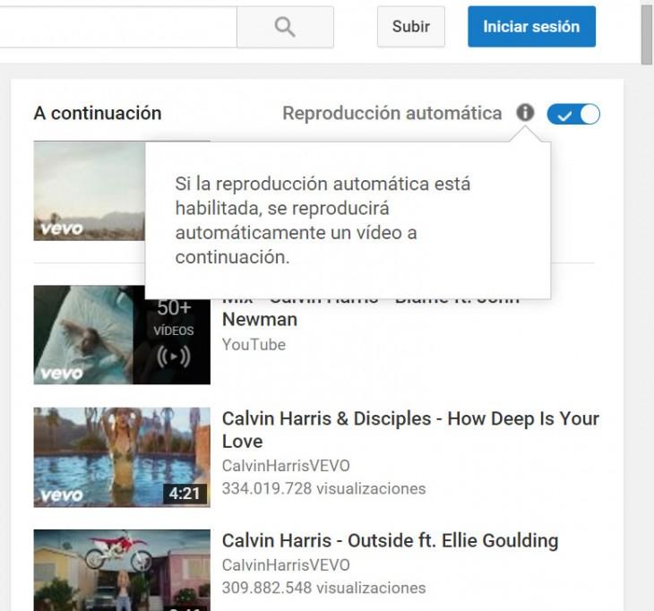 aprende a desactivar el autoplay en la pagina de youtube