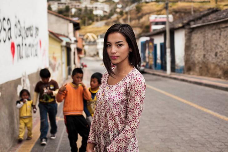 Una colombiana de visita en Ecuador