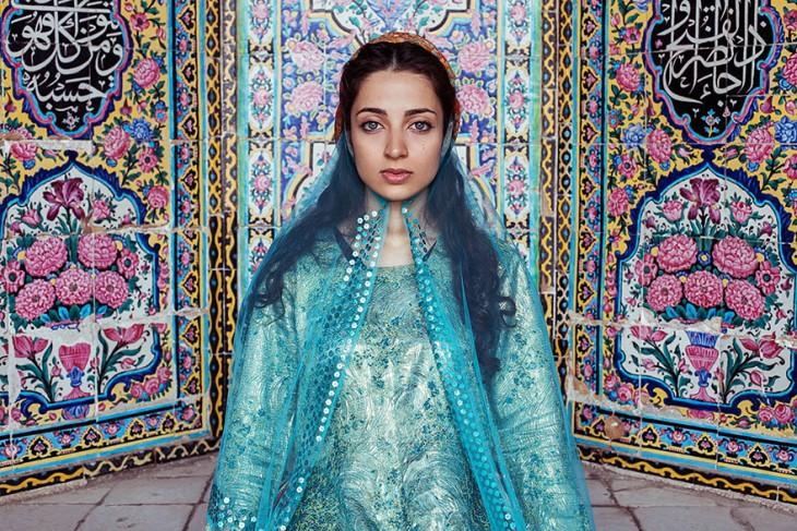 mujer iraníe