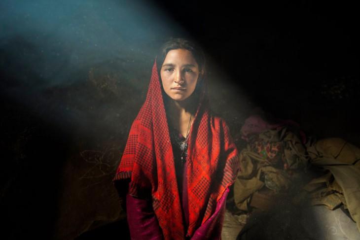 niña afghana