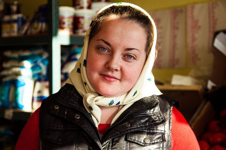 mujer regordeta rumana
