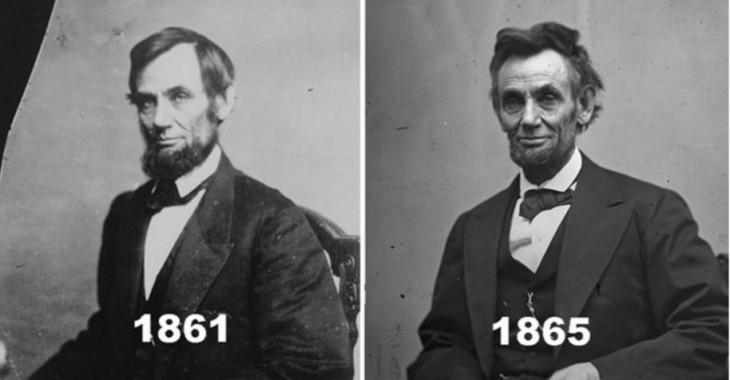 Abraham Lincoln 1861