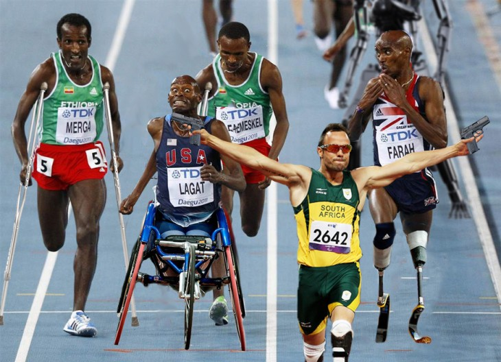 corredores paraplejicos