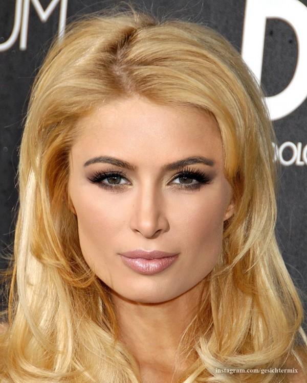 rostro de la fusión de Paris Hilton y Kim Kardashian