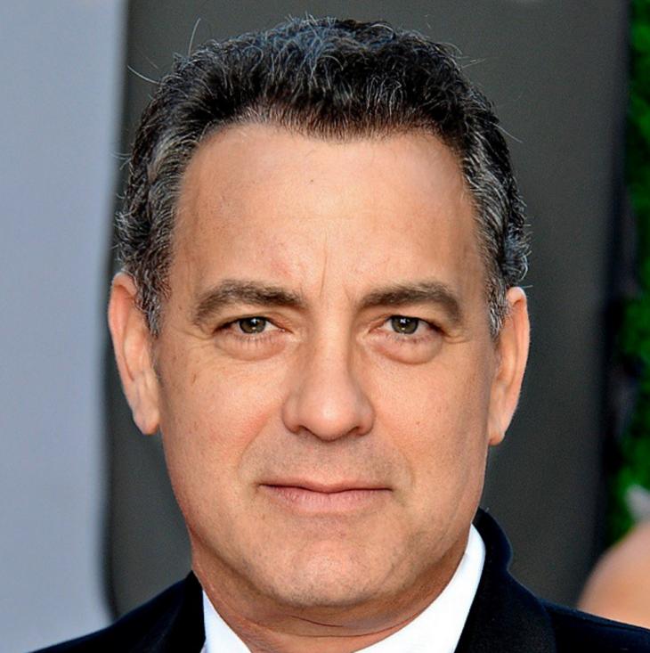 Fusión de las caras de George Clooney & Tom Hanks