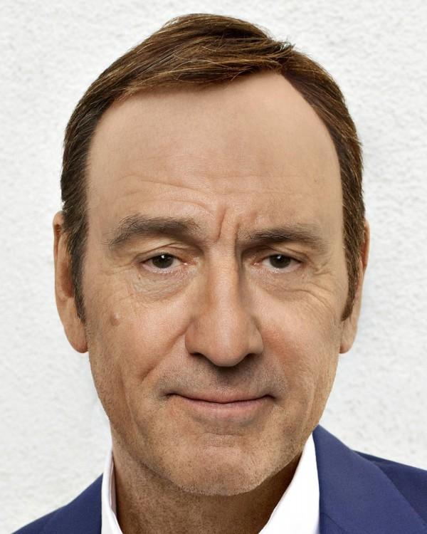 Mezcla con los rostros de Robert de Niro y Kevin Spacey