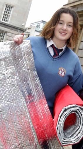 Emily Duff chica irlandesa de 15 años