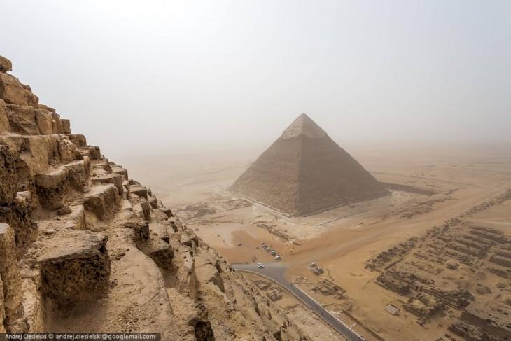 Pirámides de Giza por parte de Andrej Ciesielski
