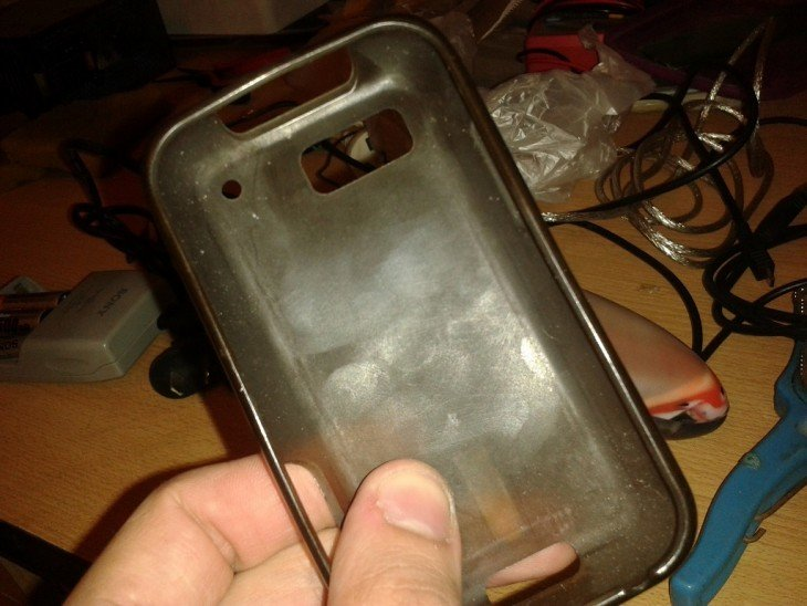 funda para celular vieja