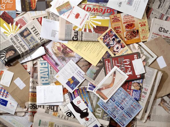 revistas y periódicos viejos