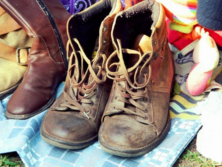 botas viejas