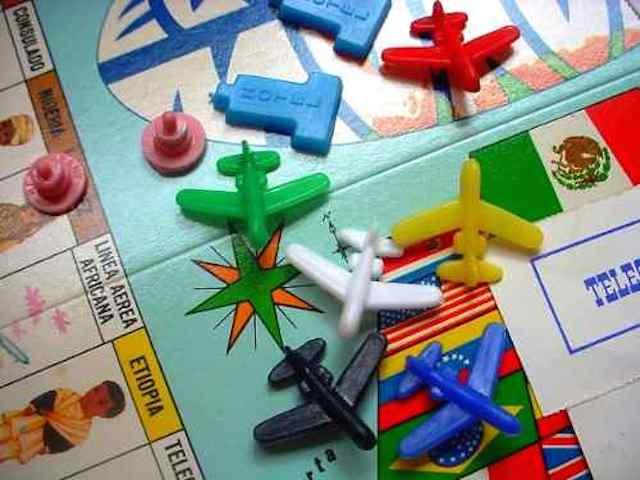 piezas del juego de mesa el turista mundial