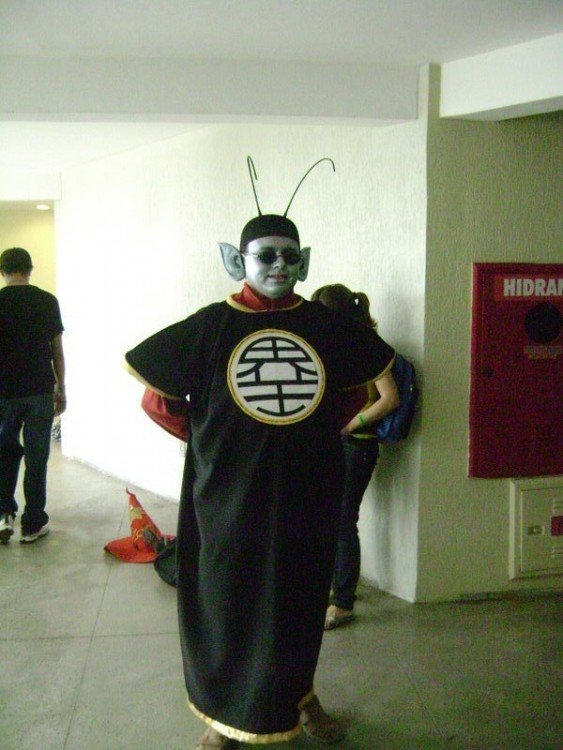 Cosplay fail de Kaiosama en Dragon Ball Z