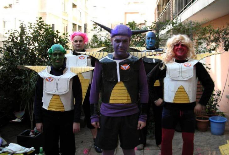 pero cosplay de las fuerzas especiales ginyu