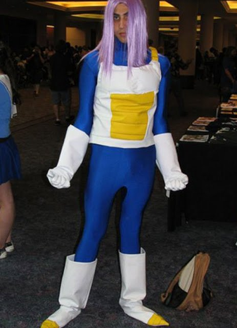 Cosplay epic fail de Dragon Ball Z de Trunks
