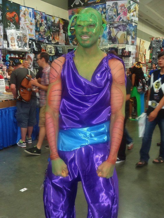 Cosplay fail de Piccolo de dragon ball z