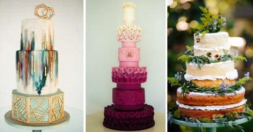 Increible pasteles de boda