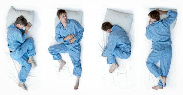 Las 6 posiciones más comunes para dormir y que dice de ti